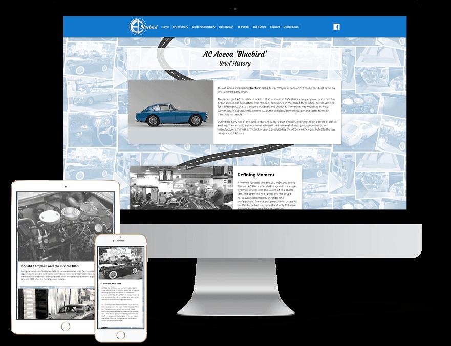 AC Bluebird Brief History Page