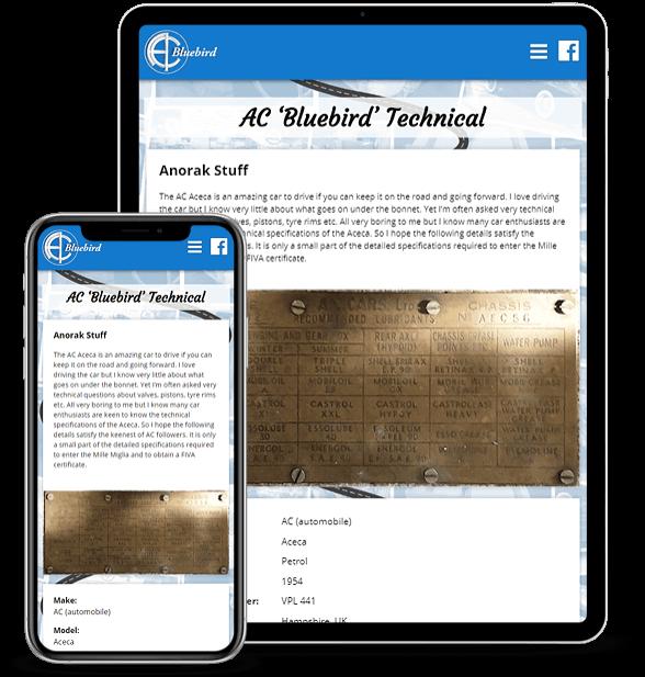 AC Bluebird Technical Page